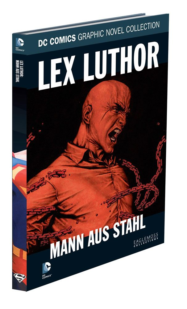 DC Comics Graphic Novel Collection Lex Luthor: Mann Aus Stahl Case (12) *German Version*