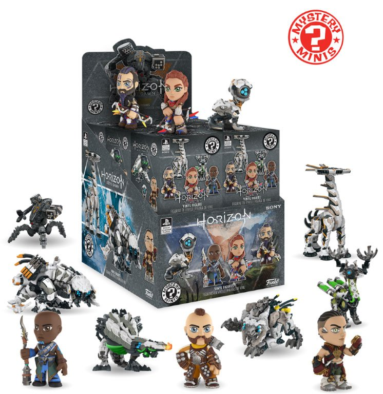 Horizon Zero Dawn Mystery Minis Vinyl Mini Figures 6 cm Display Classic (12)