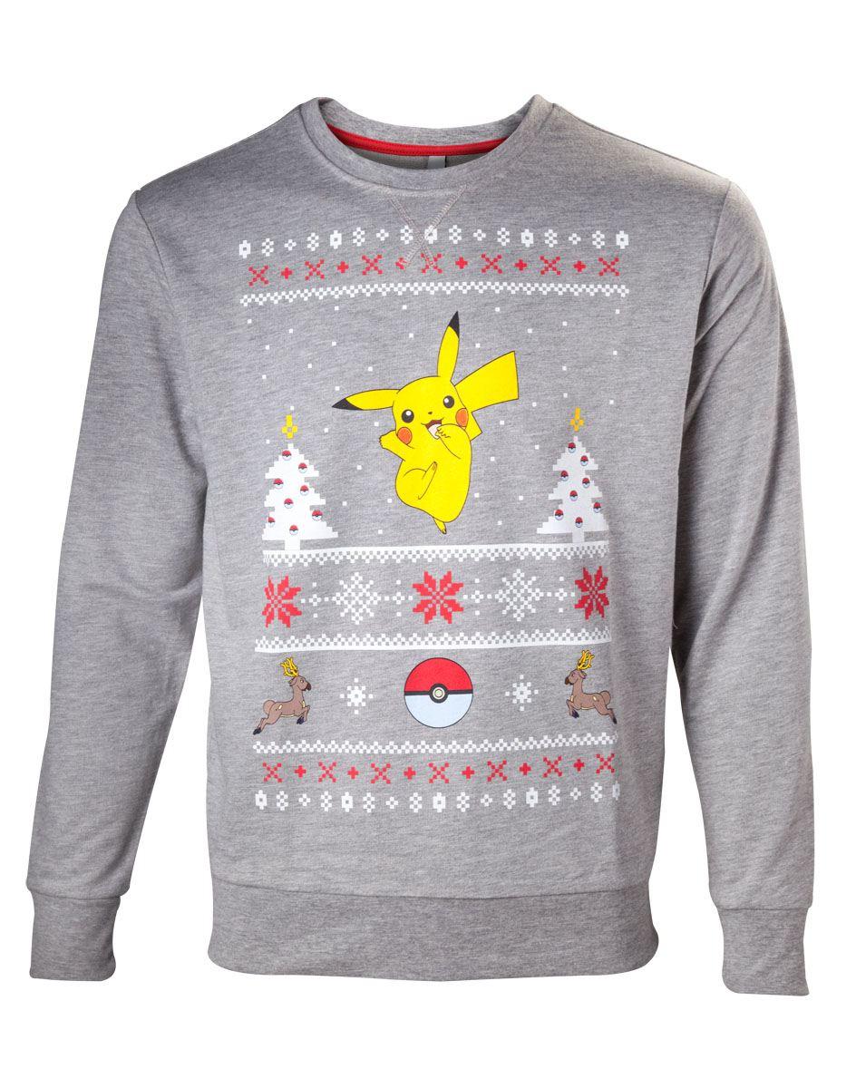 Pokemon Sweater Pikachu Christmas  Size S