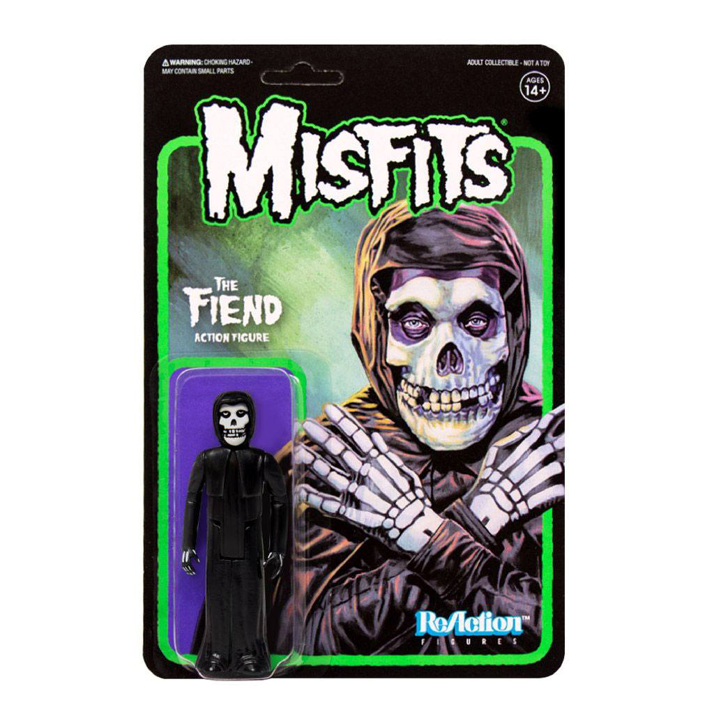 Misfits ReAction Action Figure The Fiend Midnight Black 10 cm