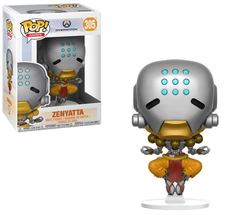 Overwatch POP! Games Vinyl Figure Zenyatta 9 cm