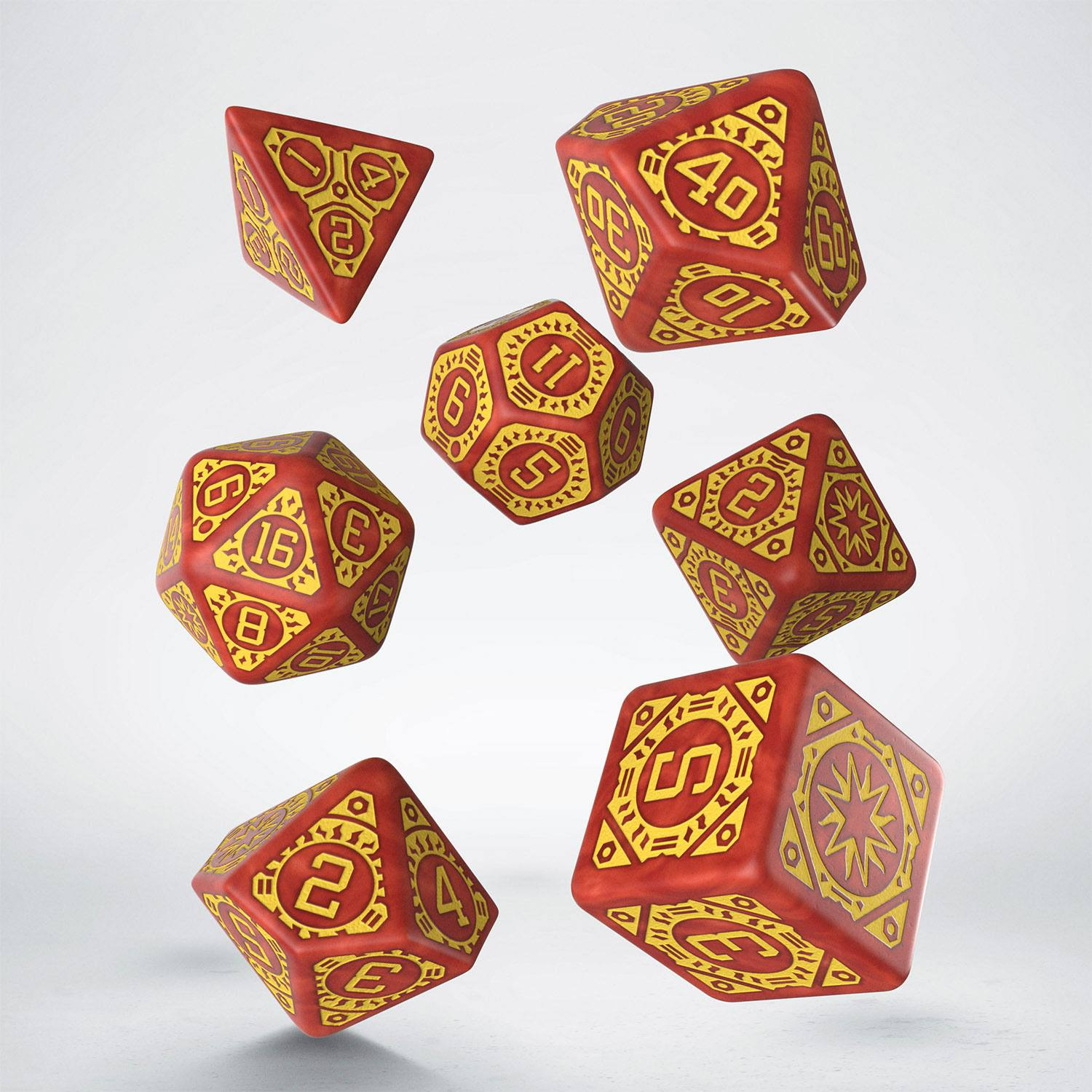 Starfinder Dice Set Dawn of Flame (7)