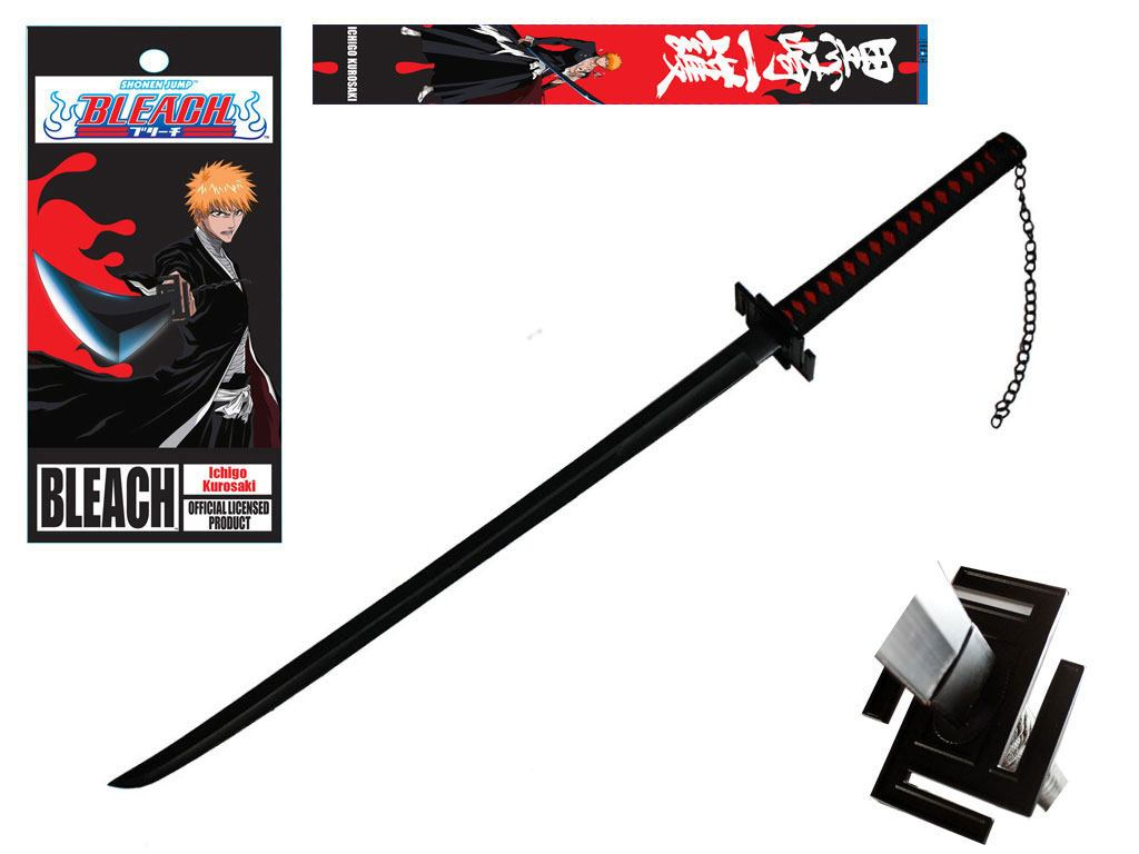 Bleach Foam Sword Ichigo Bankai Tensa Zangetsu (Retail Box Version) 99 cm