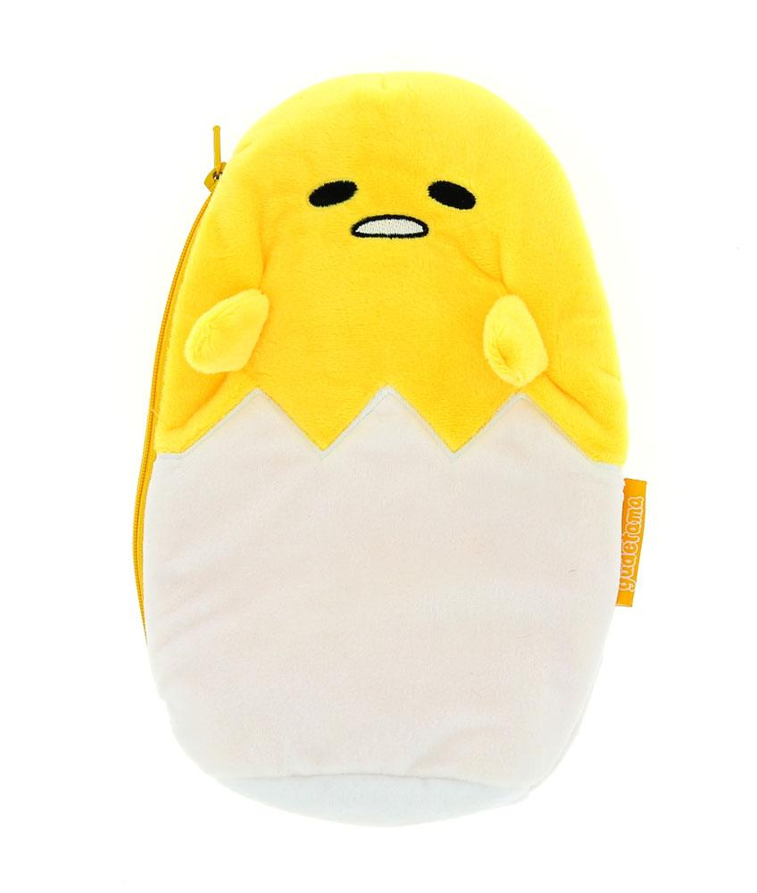 Gudetama Plush Pencil Case / Make Up Bag Gudetama