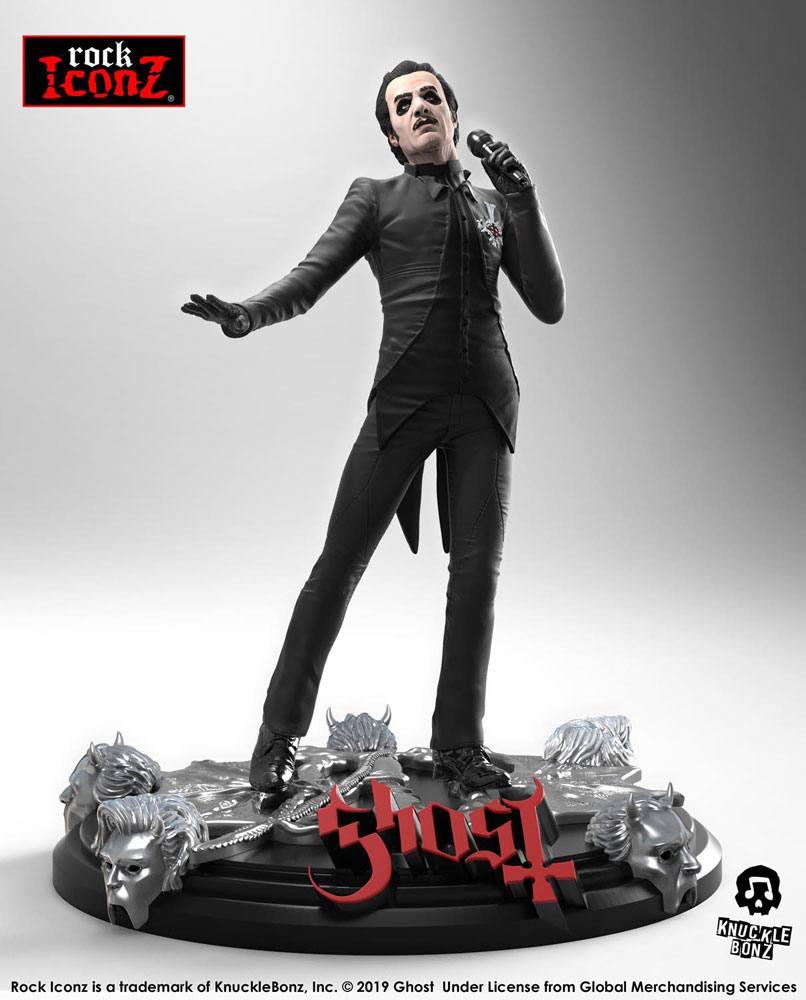 Ghost Rock Iconz Statue Cardinal Copia (Black Tuxedo) 22 cm