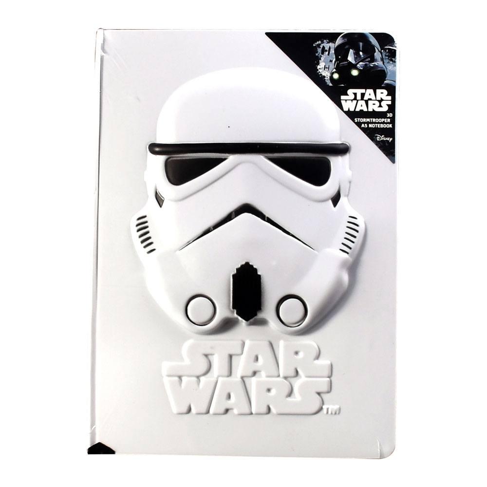 Star Wars Rogue One A5 Notebook 3D Stormtrooper