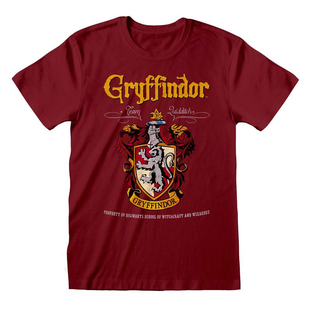 Harry Potter T-Shirt Gryffindor Red Crest Size L