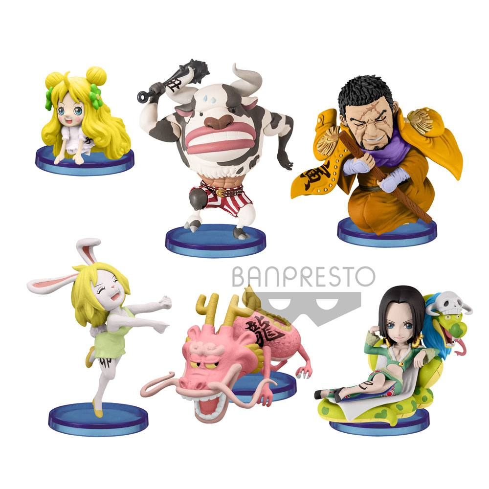 One Piece WCF ChiBi Figures 6 cm Assortment Oriental Zodiac (28)