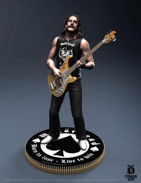 Motörhead Rock Iconz Statue Lemmy II 23 cm