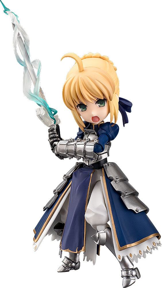 Fate/Stay Night Unlimited Blade Works Parfom Action Figure Saber 14 cm
