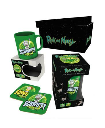 Rick and Morty Gift Box Get Schwifty