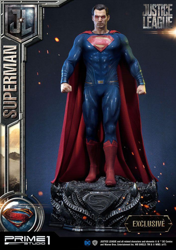 Justice League Statues Superman & Superman Exclusive 84 cm Assortment (3)