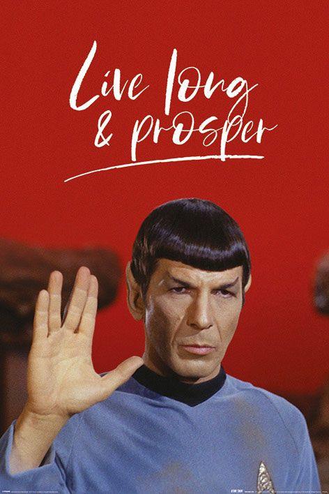 Star Trek Poster Pack Live Long and Prosper 61 x 91 cm (5)