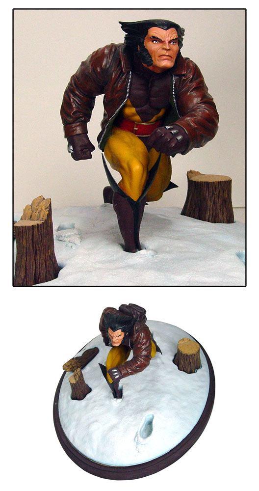 Marvel Premier Collection PVC Statue Wolverine 23 cm --- DAMAGED PACKAGING