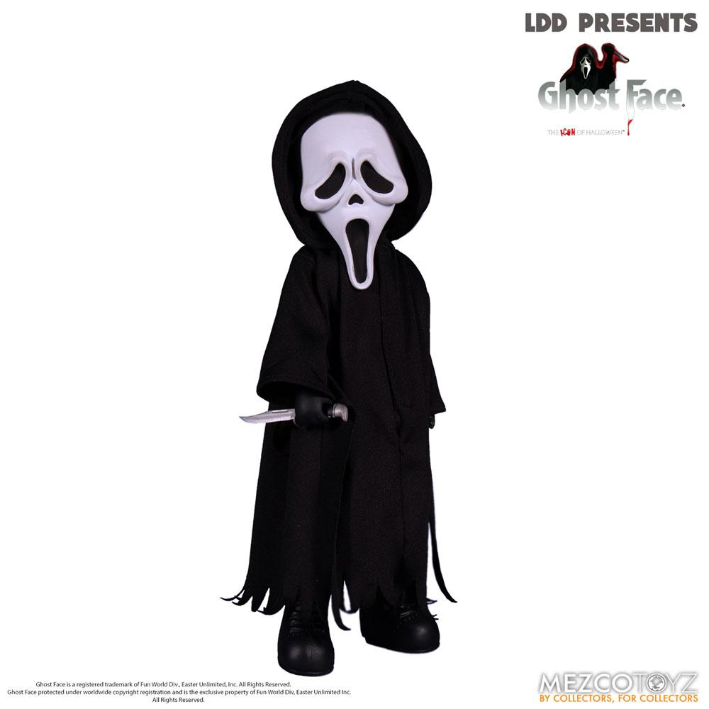 Scream Living Dead Dolls Doll Ghost Face 25 cm