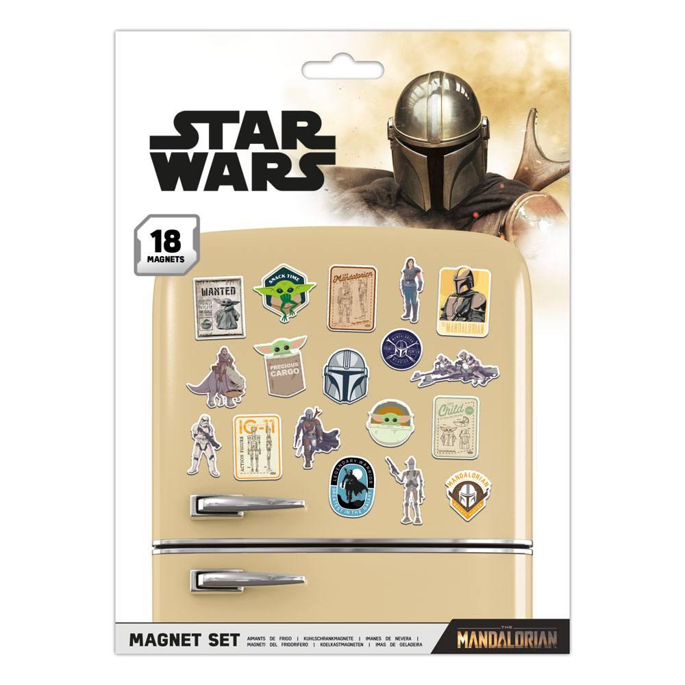 Star Wars: The Mandalorian Fridge Magnets Bounty Hunter