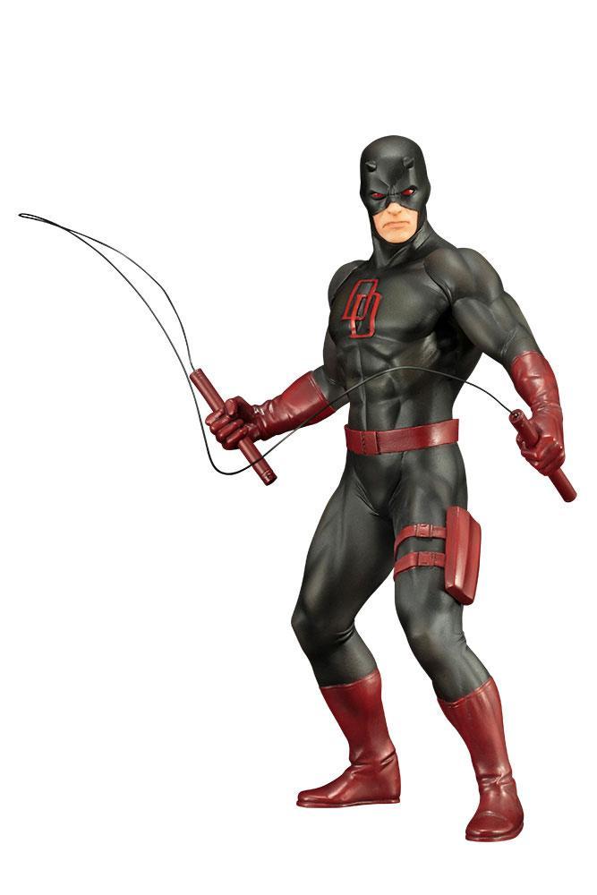 Marvel's The Defenders ARTFX+ PVC Statue 1/10 Daredevil Black Suit 19 cm