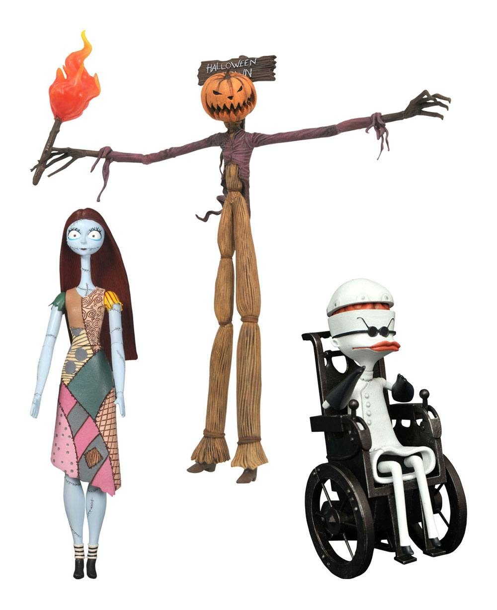Nightmare before Christmas Select Action Figures 18 cm Best Of Series 2 Assortment (6) --- DAMAGED PACKAGING