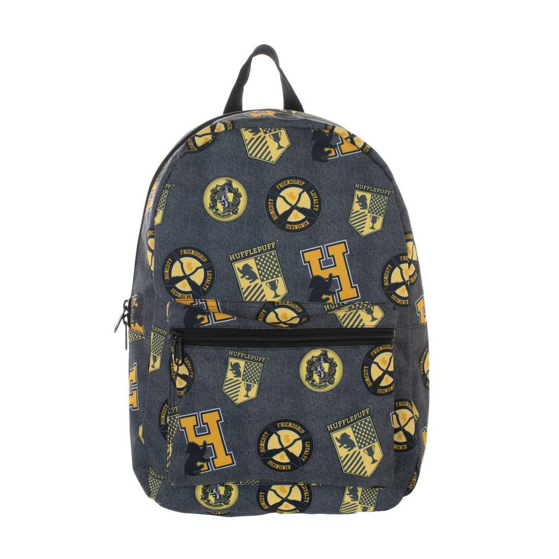 Harry Potter Backpack Hufflepuff Patches