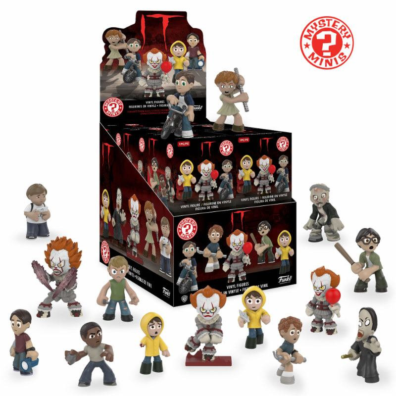 Stephen King's It 2017 Mystery Mini Figures 5 cm Display (12)