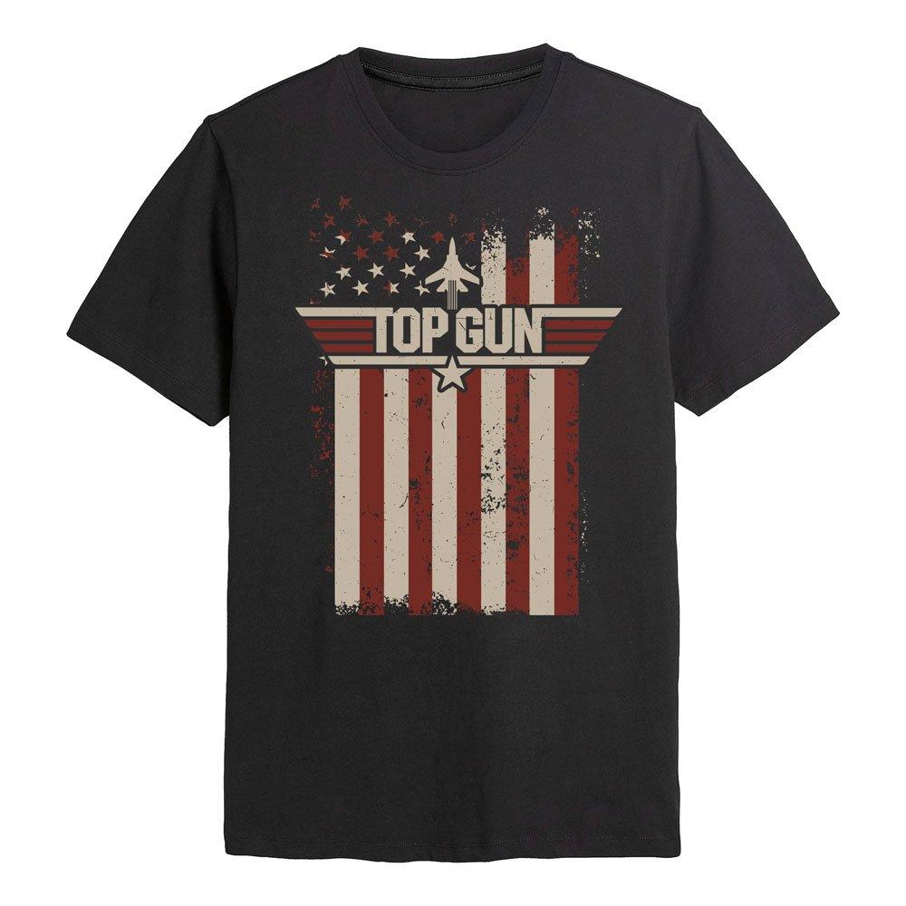 Top Gun T-Shirt Flag Size XL