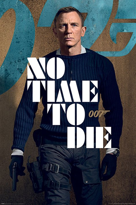 James Bond No Time To Die Poster Pack James Stance 61 x 91 cm (5)