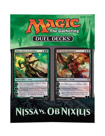 Magic the Gathering Duel Decks Nissa vs. Ob Nixilis Display (6) english