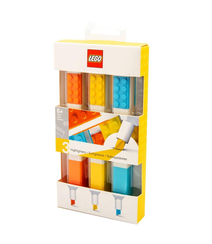 LEGO Highlighters 3-Pack Bricks