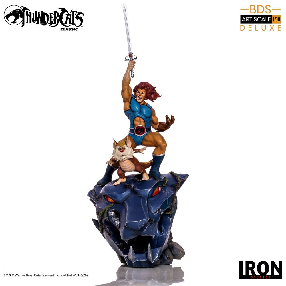 Thundercats BDS Art Scale Statue 1/10 Lion-O & Snarf Deluxe 43 cm