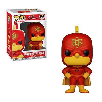 Simpsons POP! TV Vinyl Figure Radioactive Man 9 cm