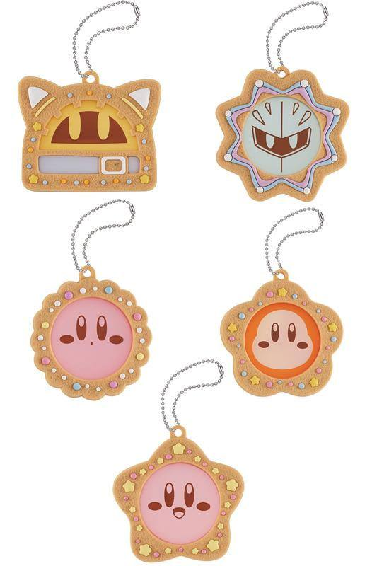 Kirby Super Star Charm Patisserie Cookie Time Charms Assortment (6)