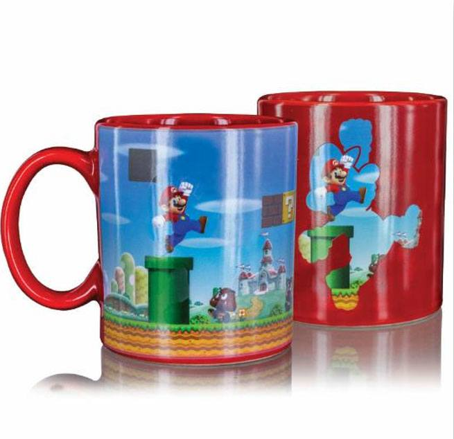 Super Mario Heat Change Mug Level