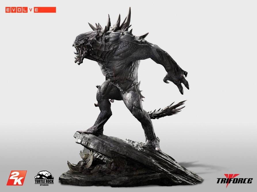 Evolve Premier Scale Statue Goliath 74 cm