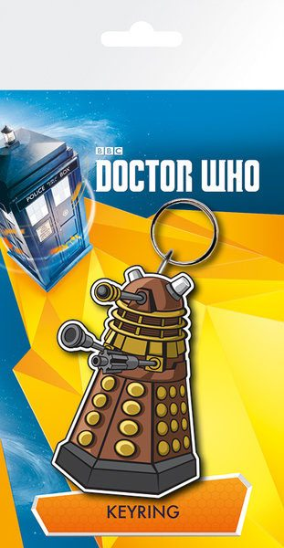 Doctor Who Rubber Keychain Dalek 7 cm