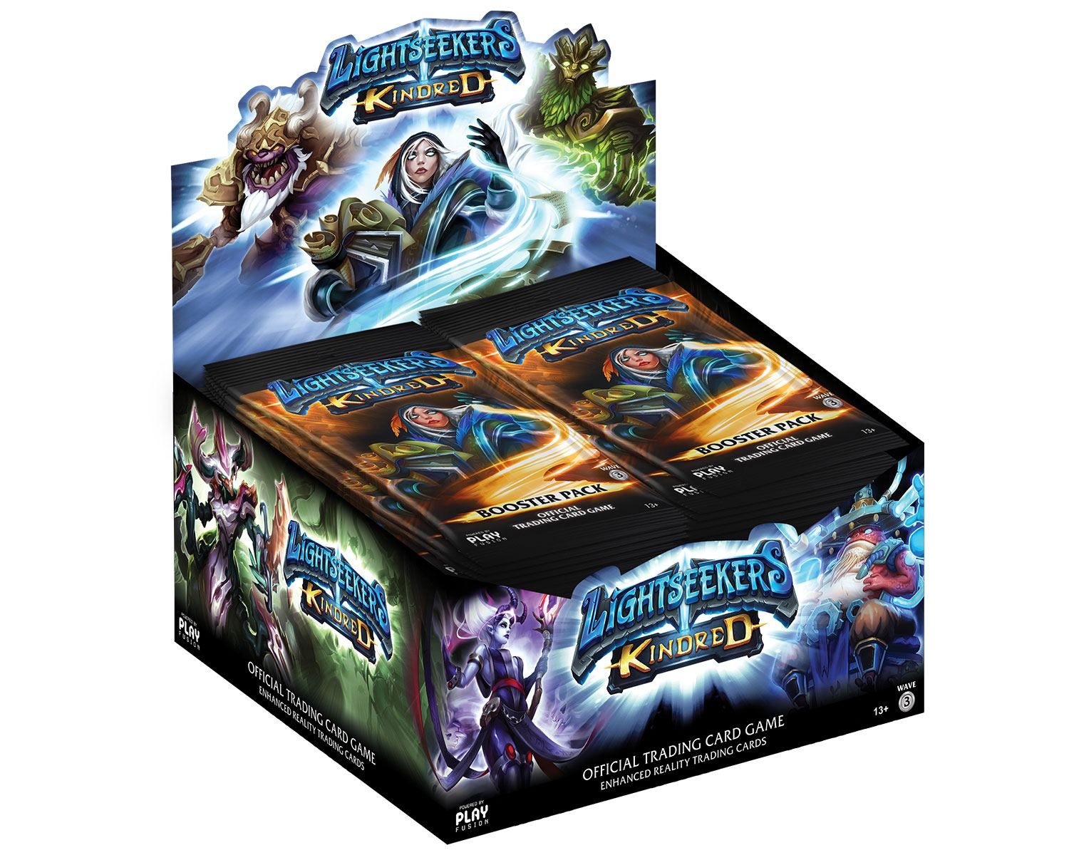 Lightseekers TCG Booster Display Wave 3 Kindred (24) *English Version*