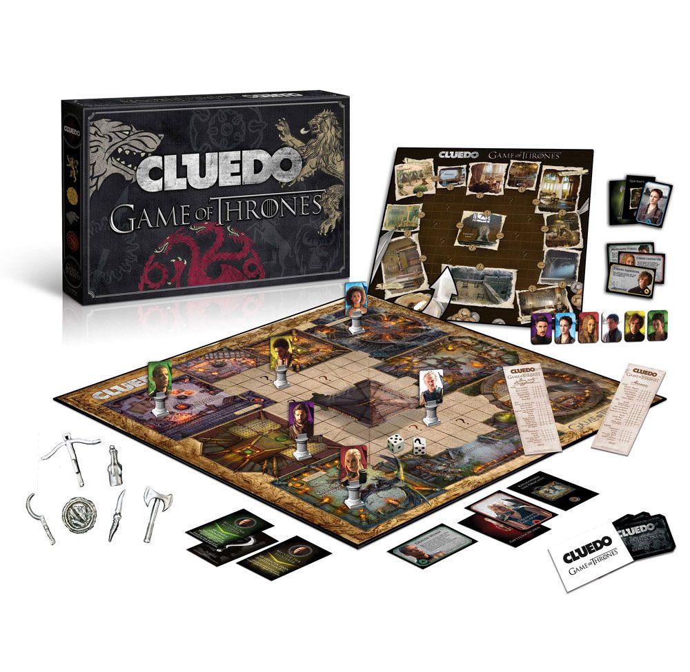 Game of Thrones Board Game Cluedo Collectors Edition *German Version*