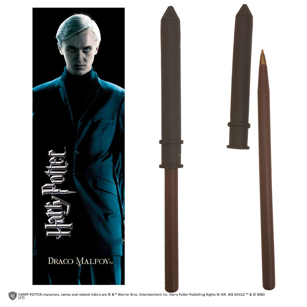 Harry Potter Pen & Bookmark Draco Malfoy