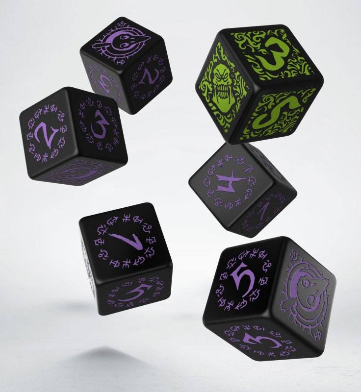 Hordes Game Dice Set D6 Grymkin (6)