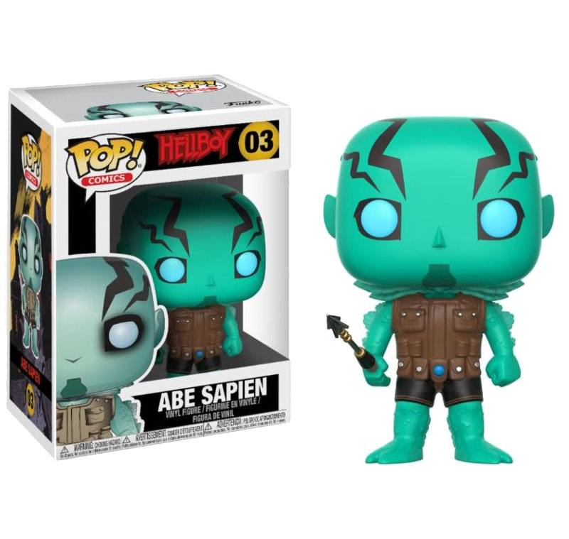 Hellboy POP! Movies Vinyl Figure Abe Sapian 9 cm