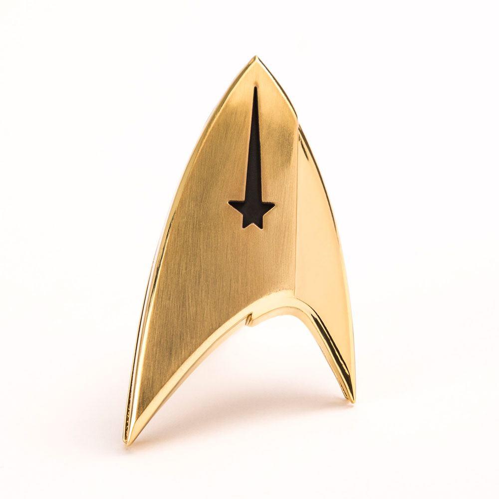Star Trek Discovery Replica 1/1 Magnetic Starfleet Command Division Badge