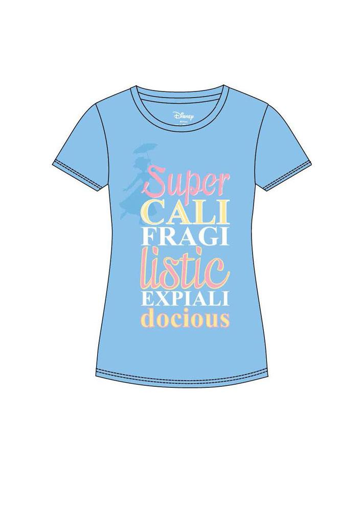 Mary Poppins Ladies T-Shirt Super Size S