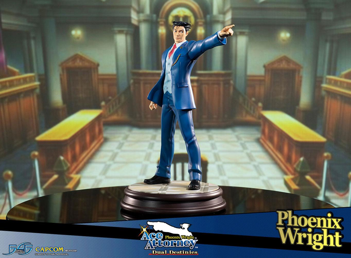 Phoenix Wright Ace Attorney Dual Destinies Statue 1/6 Phoenix Wright 34 cm