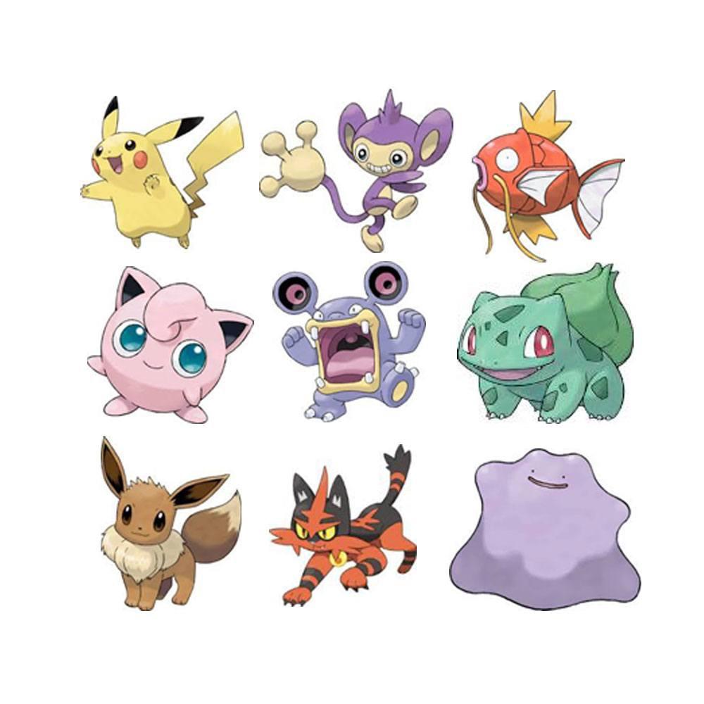 Pokémon Battle Mini Figures 3-Packs 5-7 cm Wave 3 Assortment (4)