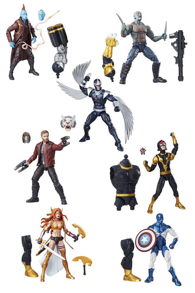 Marvel Legends Series Action Figures 15 cm Guardians of the Galaxy 2017 Wave 1 Assortment (8)