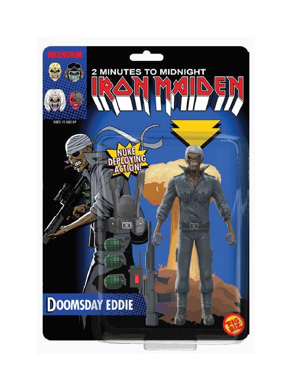 Iron Maiden FigBiz Action Figure Doomsday Eddie 13 cm