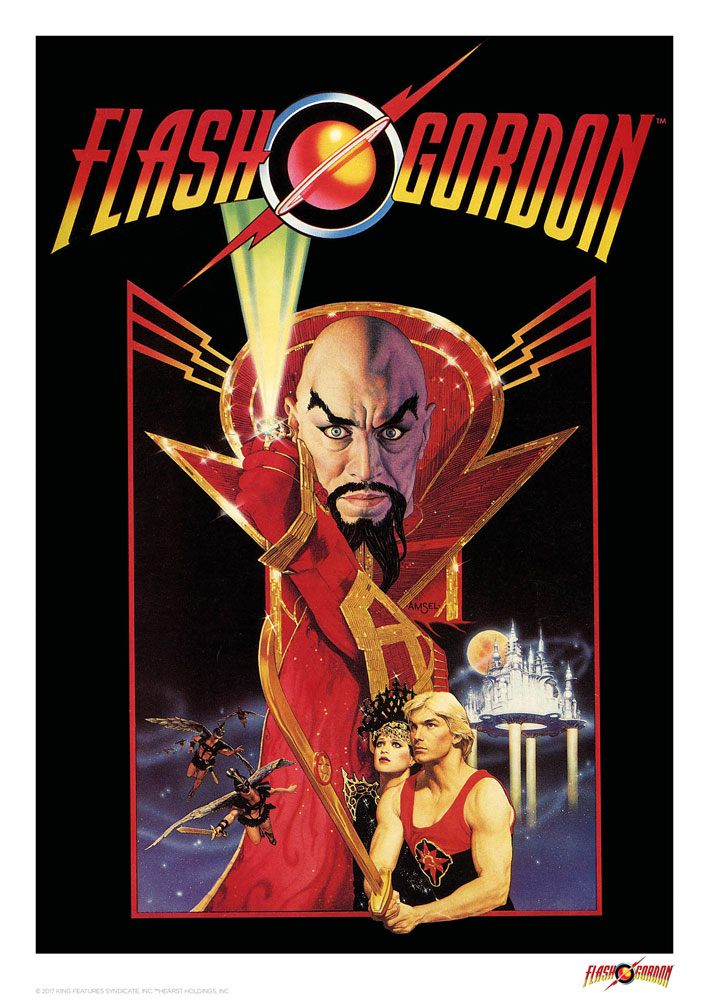 Flash Gordon Art Print Classic 42 x 30 cm