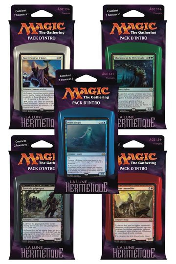 Magic the Gathering La lune hermétique Intro Pack Display (10) french