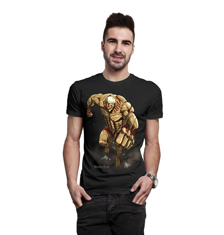 Attack on Titan T-Shirt Titan Size XL