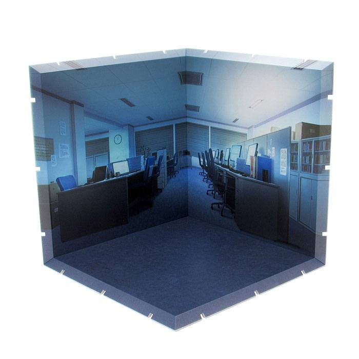 Dioramansion 150 Decorative Parts for Nendoroid and Figma Figures Office (Night)