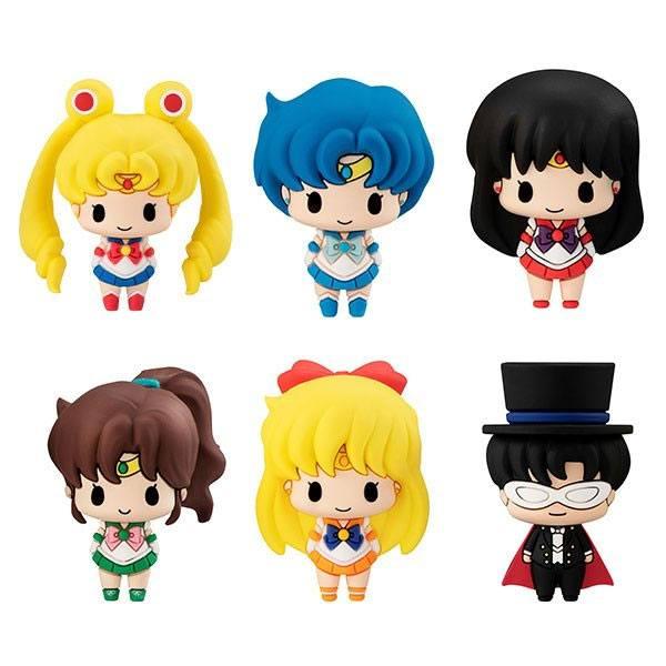 Sailor Moon Chokorin Mascot Series Trading Figure 6-Pack 5 cm